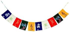 Velvet Tibetan Buddhist Prayer Flag For Car/Bke
