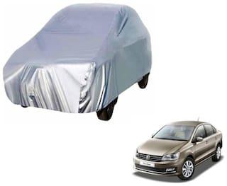 Vento silver car cover