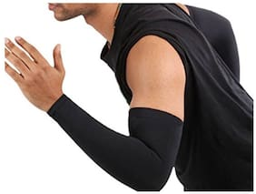 Verceys AquaX Coolet Compression Sleeves for the Arm and Elbow. 99% UV Protection and Cooling Ability for Outdoors Use like Running, Basketball, Football, Soccer, Tennis. Cycling. Sleeves