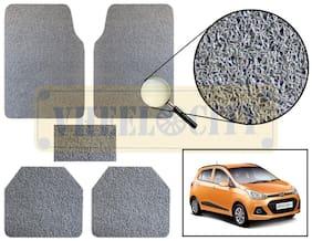 Vheelocity Car Foot Mat Premium Grey Noodle - Grand i10