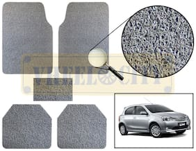 Vheelocity Car Foot Mat Premium Grey Noodle - Liva