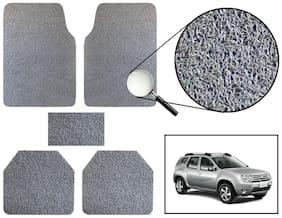 Vheelocity Car Foot Mat Premium Grey Noodle - Renault Duster