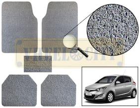 Vheelocity Car Foot Mat Premium Grey Noodle - i20
