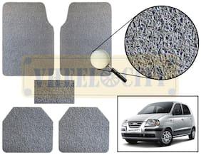Vheelocity Car Foot Mat Premium Grey Noodle - Santro Xing