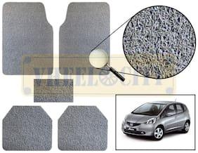 Vheelocity Car Foot Mat Premium Grey Noodle - Jazz