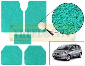 Vheelocity Car Foot Mat Premium Green Noodle - Jazz