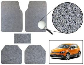 Vheelocity Car Foot Mat Premium Grey Noodle - Volkswagen Polo Cross