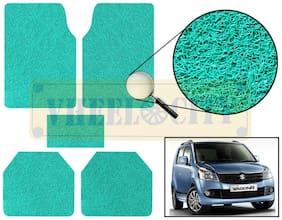 Vheelocity Car Foot Mat Premium Green Noodle - Wagon R