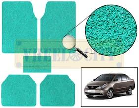 Vheelocity Car Foot Mat Premium Green Noodle - Indigo