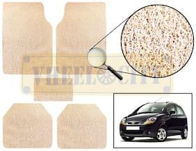 Vheelocity Car Foot Mat Premium Beige Noodle - Spark