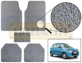 Vheelocity Car Foot Mat Premium Grey Noodle - Alto 800