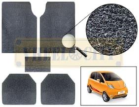 Vheelocity Car Foot Mat Premium Black Noodle - Nano