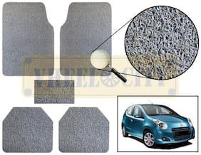 Vheelocity Car Foot Mat Premium Grey Noodle - A star