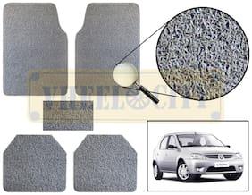 Vheelocity Car Foot Mat Premium Grey Noodle - Logan