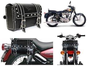 Vheelocityin Royal Enfield Bullet Black Bag