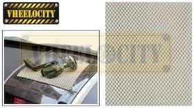 Vheelocityin Dashboard Anti slip Mat - Beige Colour