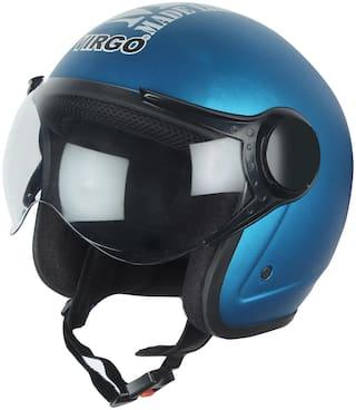 Virgo No 1 Helmet 1 BLT Color Blue Matt finish Clear visor