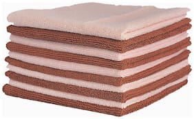 VRT Microfiber Cloth used for Cleaning and Dusting - Kitchen, Washroom, Cars, and Bikes - Pack of 10