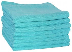 VRT Microfiber Cloth used for Cleaning, Dusting and Polishing - Kitchen, Washroom, Cars, and Bikes - Pack of 8