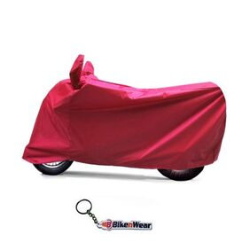 Water Proof  Body Cover For Bajaj Caliber- Red