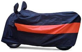 Water Proof Body Cover-(Black-Orange) for Royal Enfield Bullet Standard 350 & 500
