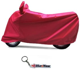 Water Proof  Body Cover For Honda Activa 125- Red