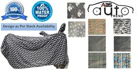 Waterproof Bike Body Cover For  Tvs Scooty Zest ( FREE Anti-Pollution Face Mask )