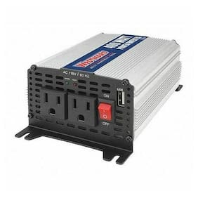 Westward 54Dc43 Inverter,400W Nominal Output,2 Outlets