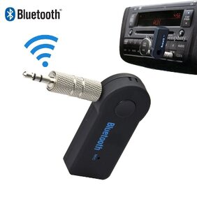 Whinsy Car Bluetooth Device with Audio Receiver;3.5mm Connector (Black)