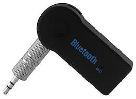 Wireless 3.5mm Chargeable Car Bluetooth Music Receiver With MIC Stereo Output