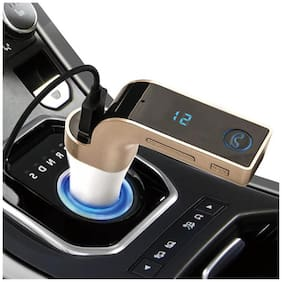 Wireless Bluetooth Handsfree Car Kit with USB Port Charger and FM Transmitter SD MP3 Player