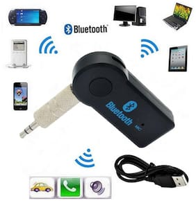 Wireless Car Bluetooth Receiver Adapter 3.5MM AUX Audio Stereo Music