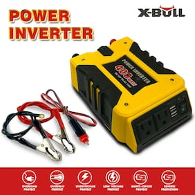 X-BULL  Power Inverter 800W  DC 12V AC 110V 2 USB Car Adapter 2.1A