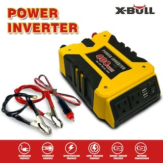 X-BULL  Power Inverter 800W  DC 12V AC 110V 2 USB Car Adapter 2.1A