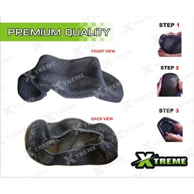 XTREME-In 3D Cool Mesh Technology Seat Cover For Suzuki Access 125