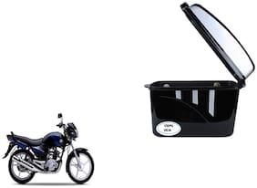 Yamaha Alba Dua Trendy Black Silver Side Box Extra Luggage Box
