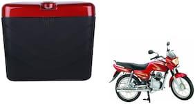 Yamaha CRD 100 Dua Polo Matt Black Red Side Box Extra Luggage Box