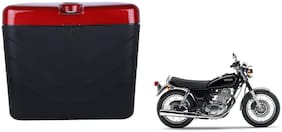 Yamaha Rajdoot Dua Polo Matt Black Red Side Box Extra Luggage Box