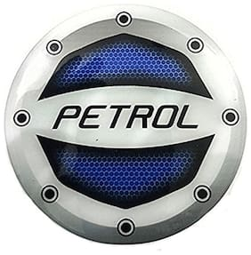 Yashinika Reflective Blue Petrol Sticker Car Fuel Lid for Universal