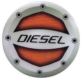 Yashinika Reflective Red Diesel Sticker Car Fuel Lid for Universal