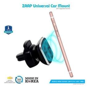 Zaap Magnetic Touch One Premium Car Mount/Desk Mount/Air Vent Mount Universal Compatible For Smartphones