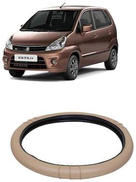 Zen Estilo Beige Steering Cover