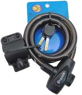ZNEE SMART Heavy Quality Cycle Cable Lock, Helmet Lock, Black