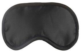 100 % Silk, Super Smooth Soft Sleep Mask And Blind Fold (Black) Eye Mask Black