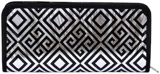 A&A Women Solid Polyester - Clutch Multi