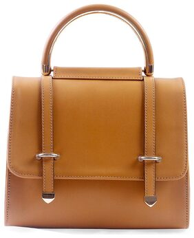 aaimfa Women Pu Sling Bag - Tan