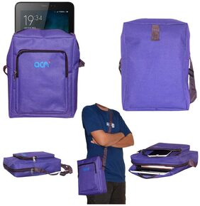 Acm Classic Soft Padded Shoulder Sling Bag for Micromax Canvas Tab 701+ Carrying Case