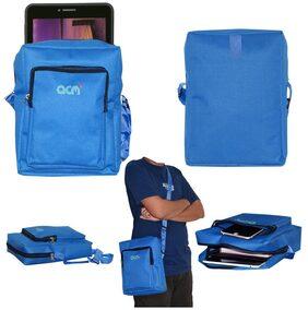 Acm Classic Soft Padded Shoulder Sling Bag for Iball Slide Q45i New Carrying Case Dark Blue