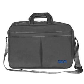 "Acm Executive Office Padded Laptop Bag for Acer Aspire Es1-131-C4zs 11.6"" Laptop Grey"