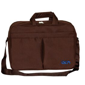 Acm Executive Office Padded Laptop Bag for Asus X553ma-Xx288b 15.6 Laptop Brown